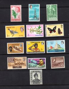 Beautiful Worldwide Mixture of 13 different.....mnh..bargain priced
