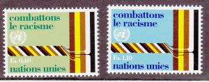 United Nations - Geneva # 69-70, Mint Never Hinged Set