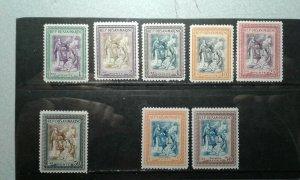 San Marino #260-65,C52-53 mint hinged e206 9660