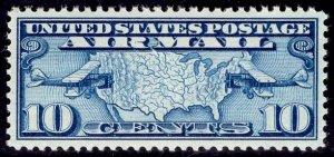US Stamp #C7 10c Dark Blue MINT NH SCV $4.00