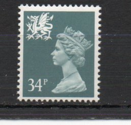 Great Britain - Wales WMMH55 MNH