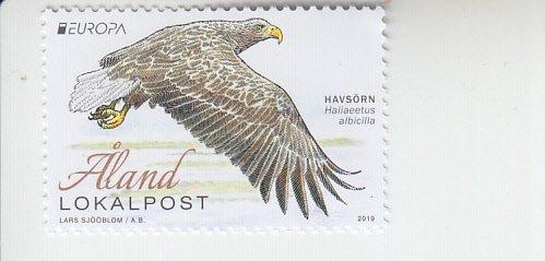 2019 Aland Islands White-tailed Eagle Europa (Scott 420) MNH