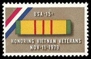 PCBstamps   US #1802 15c Honoring Vietnam Veterans, 1979, MNH, (17)