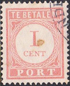 Netherlands Indies #J25  Used