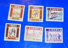 Liberia - 347-49, C88-90, MNH Set. Sports. SCV - $1.80