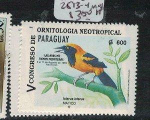 Paraguay Bird SC C513-4 MNH (3eej)