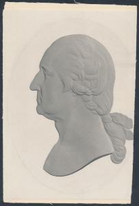 GEORGE WASHINGTON ENGRAVED DIE PROOF BR6665