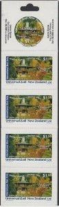 NEW ZEALAND Universal Mail $7.50 International Mail Booklet - Queenstown....R526