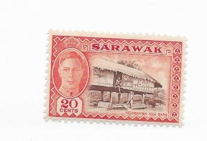 Sarawak #189 MH - Stamp - CAT VALUE $2.75