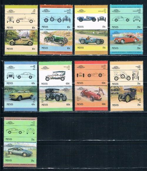 Nevis  MLH Pairs Classic Cars (N0097)