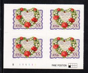 #3275 Victorian Love Wreath #B111111 LL   - MNH