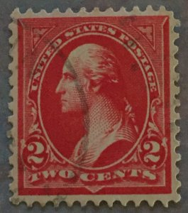 2 cent Washington, appears to be a type III