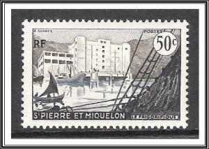 St Pierre & Miquelon #347 Freezing Plant MNH