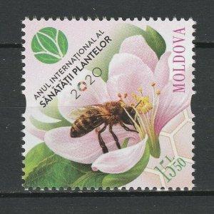 Moldova 2020 Honey Bee MNH stamp
