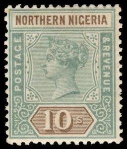 Northern Nigeria Scott 1-9 Gibbons 1-9 Mint Set of Stamps