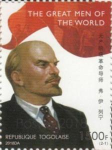 Z08 TG18504a TOGO 2019 Lenin MNH ** Postfrisch