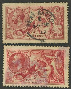 Great Britain #174 & #223 Used