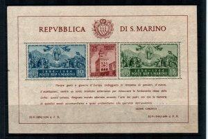 San Marino #239 Perf MNH  Scott $115.00   S/S