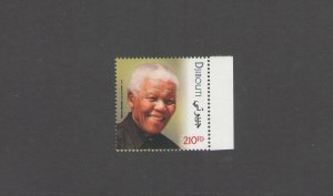 DJIBOUTI: New Issue / **PRESIDENT NELSON MANDELA**/ Single   / MNH