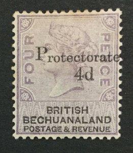 MOMEN: BECHUANALAND SG #44 1888 MINT OG H LOT #192547-1269