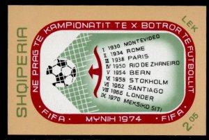 Albania 1535 MNH World Cup Soccer