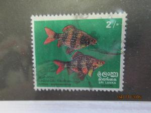 Sri Lanka #476 used
