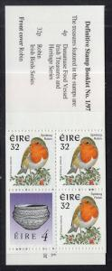 Ireland 1040Ab Birds Booklet MNH VF