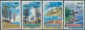 Norfolk Island 1992 SG537-540 Christmas set MNH