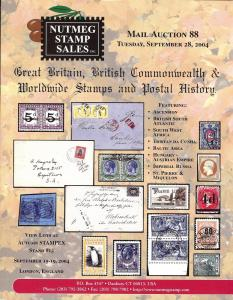 Nutmeg Stamp Sales - Great Britain, British Commonwealth ...