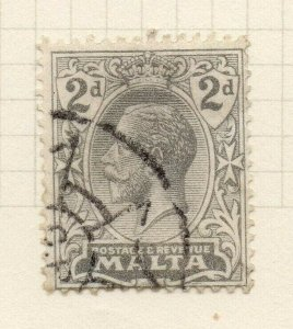 Malta 1921-22 Early Issue Fine Used 2d. 321550
