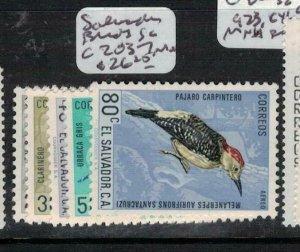 El Salvador Birds SC C203-7 MOG (5eej)