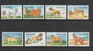 GRENADA #2161-2168 1993 DOGS MINT VF NH O.G