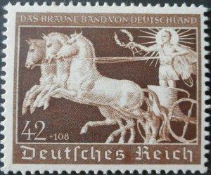 Germany 1940 Brown Ribbon 42 Pfennig Michel 747 u/mint