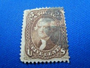 UNITED STATES, 1861 SCOTT #76 -  USED