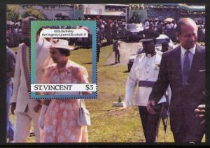 St Vincent 932 MNH Queen Elizabeth 60th Birthday