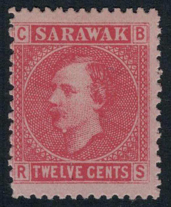 Sarawak #7* no gum CV $12.00