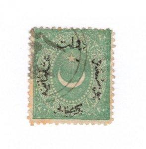 Turkey #21 Thin Used - Stamp - CAT VALUE $14.00