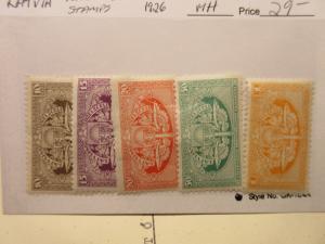 LATVIA Lettland 1926 Railway Stamps  MINT HINGED  LotL