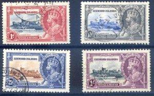 Leeward Islands SG88/91 Fine Used