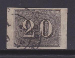 Brazil 22 VF-used neat cancel nice color cv $ 120 ! see pic !