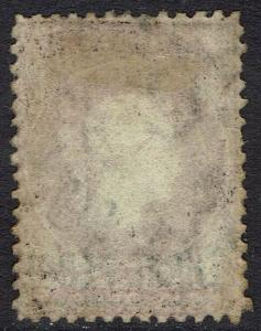 ST HELENA 1864 QV 3D WATERMARK CROWN CC PERF 14