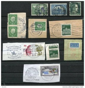 Germany 1924 and up Special Post Office cancel.