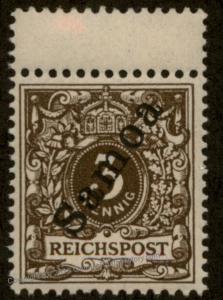 Germany 1900 Deutsche Samoa Mi3 MNH Postfrische 90007