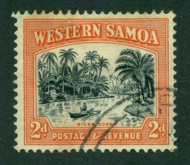 Samoa 1935 #168a U SCV(2020) = $4.25