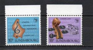 Luxembourg 729-730 MNH