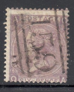 Great Brittain #45c Used -- WMK#24  --  NO FAULTS --  C$1400,00 - Special cancel