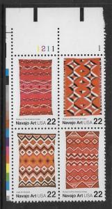 PB MNH 2235 / 2238 1211 Navajo Art