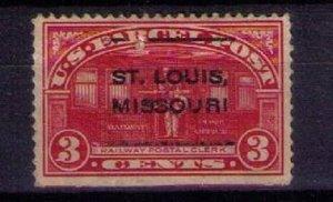 #Q3 Precancel St.Louis Missouri Very Fine
