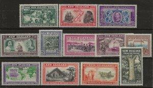 New Zealand 229-237, 239-241 MH