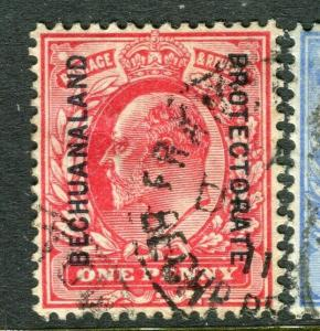 BECHUANALAND; 1904 early Ed VII issue fine used 1d. value